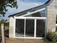 Pose baie vitrée Angers Saumur Menuisier Loire Authion